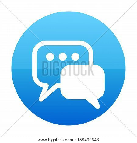 Bubble Chat, Communication, Customer, Live Speak ,talk Icon