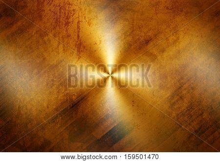 grunge golden plate background