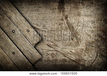 rough wood board background