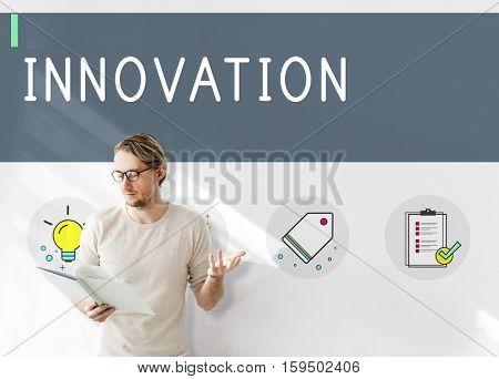 New Product Brand Design Ideas Imagination Draft Concept
