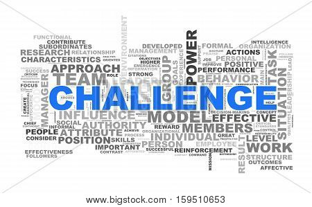 Challenge Wordcloud Word Tags
