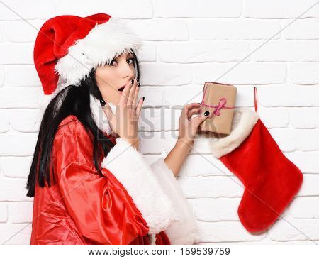 Pretty Cute Sexy Santa Girl