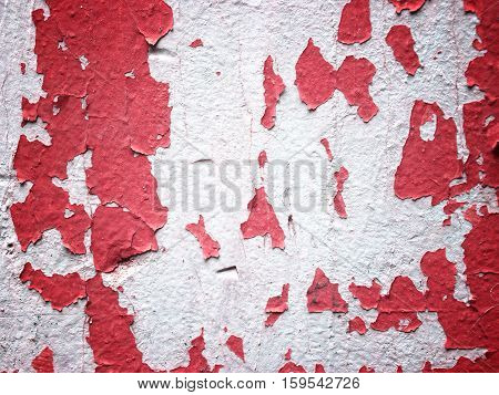 Red Wall Texture For Background Usage