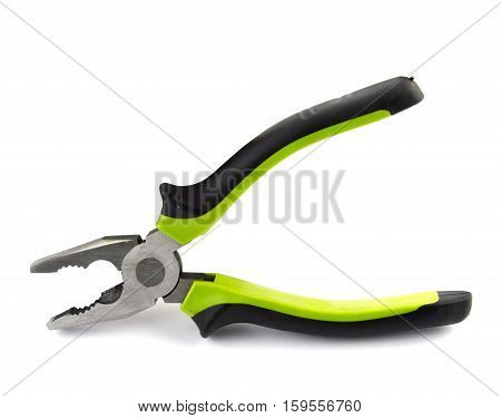 Hand tools isolated on a white background