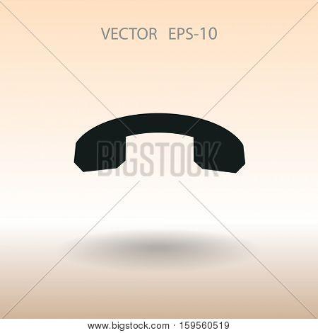 Call off icon. vector illustration