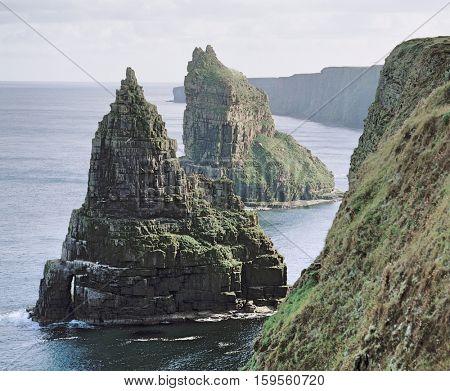 Sea Stacks on Coast
