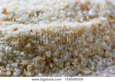 Pile Of Bread Crumbs
