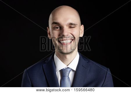 Smiling Man In Suit
