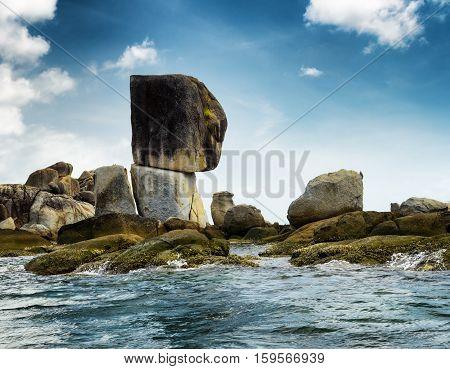 Rocky Island In Andaman Sea