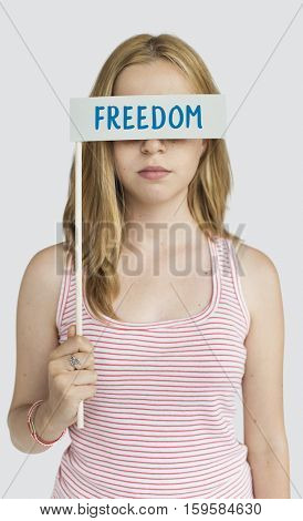Liberties Freedom Peace Word Concept