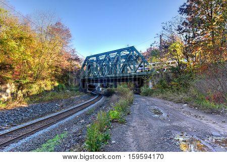 Jersey City Train Tracks