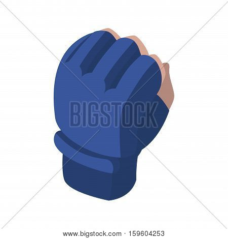 fighting glove. Sports accessory fighters. Warrior gloves.