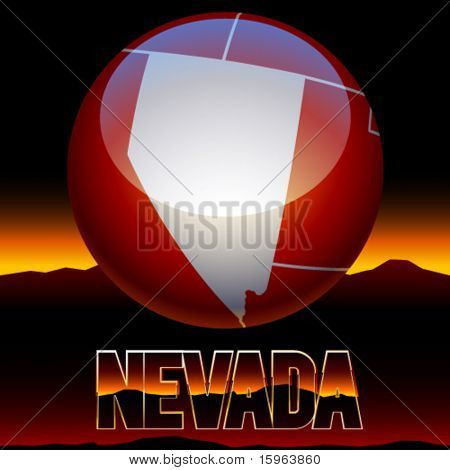 United states of america symbol of nevada state