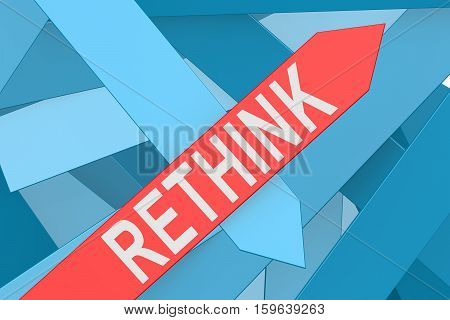 Rethink Arrow Pointing Upward