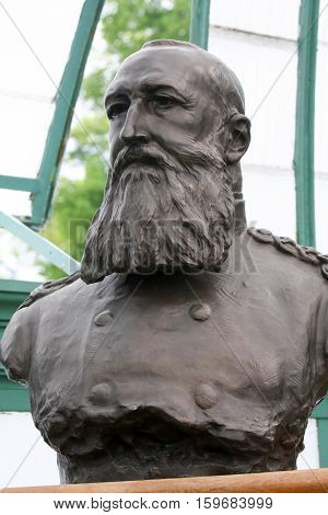 Bust Of King Leopold Ii Of The Belgians