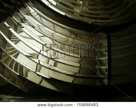 Details of a big headlight (created for lighthouse)