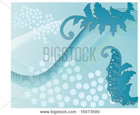 quirky netting background