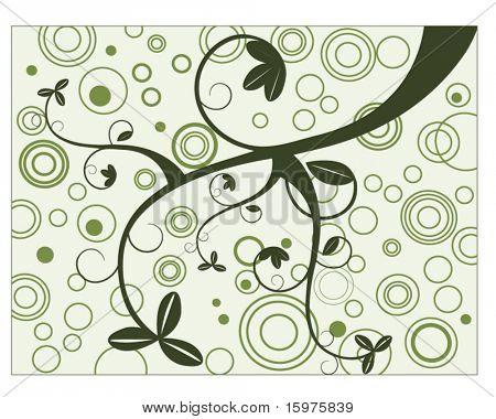 springtime circles and vine