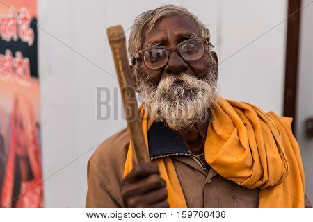 Aged Indian Man