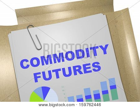 Commodity Futures - Business Concept