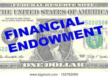 Financial Endowment Concept
