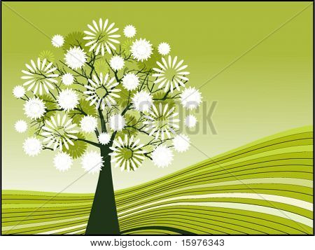 tree with blossoms