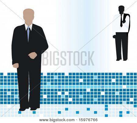 business men in suits