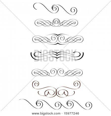 calligraphy elements