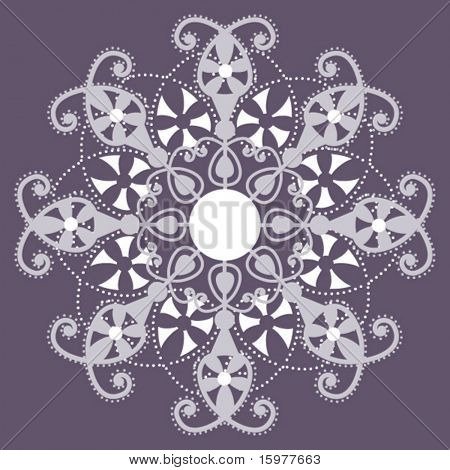 lacy snowflakes/flowers 2 of 3