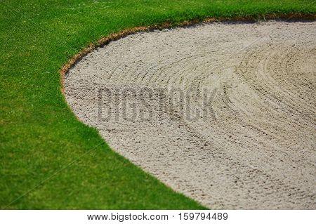 Golf Sand Bunker