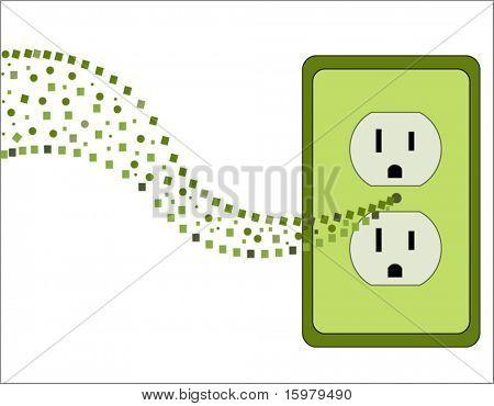 green socket environment concept 2