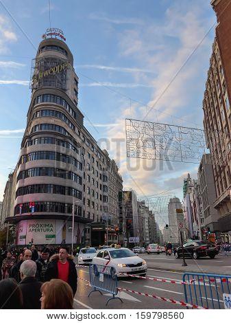 Gran Via Pedestrianized