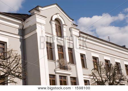 Facade Of An Ancient Building