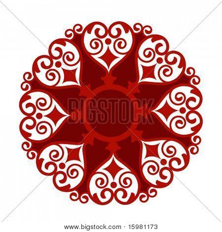 heart motif tattoo