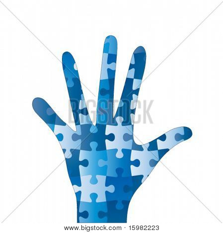 Puzzle hand
