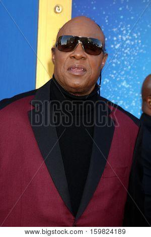 LOS ANGELES - DEC 3:  Stevie Wonder at the