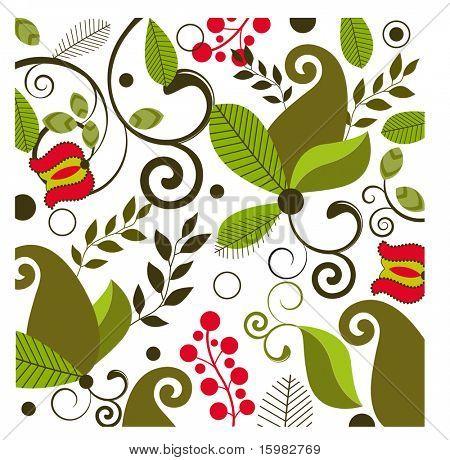 Fun floral pattern