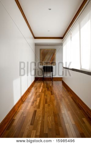 Interior design series: classic empty hallway