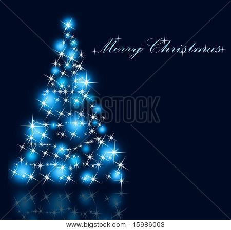 The best Christmas tree background