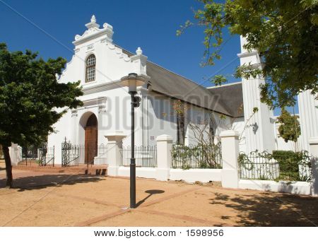Stellenbosch Rhenish Church In South Africa