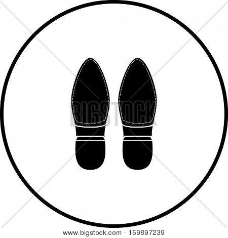 shoes bottoms symbol