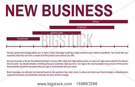 Startup Business Marketing Plan Concept