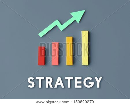 Graph Growth Development Improvement Profit Success Concept