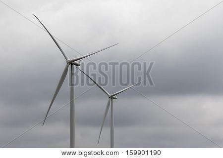 Wind Turbines in the fields of Iowa