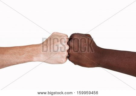 The concept of the struggle for equality. The racial conflict.