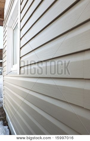 Wall  Finished In Vinyl Siding