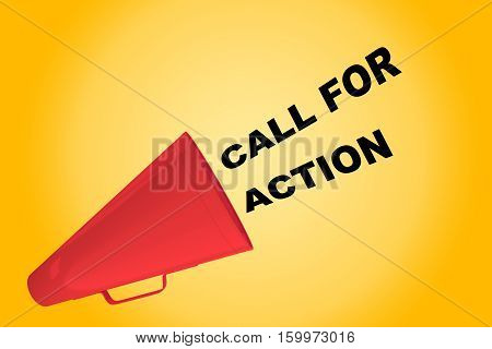Call For Action Concept