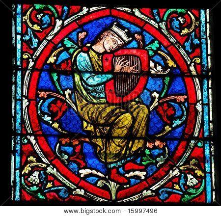 Harpist - Medieval Music