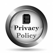 Постер, плакат: Privacy Policy Icon