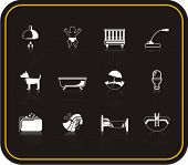 Exclusive Series of Hotel Services Icons. Check my portfolio for much more of this series as well as